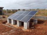Sistema de kit de painel solar de 1kw 2kw com sistema híbrido de backup