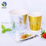 Биоразлагаемые горячий суп чашу с бесплатной рекламы дизайн