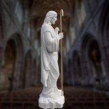 종교적인 동상 조각품, 예수 T-6895의 대리석 상