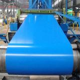 Пленка Ral9016 PVC Prepainted катушка покрынная цветом гальванизированная стальная PPGI