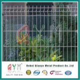 용접된 철망사 위원회 PVC에 의하여 입히는 직류 전기를 통한 담 위원회