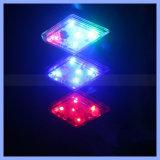 5 LED-Fahrrad, das hinteres Diamant-Sicherheits-Blitz-Endstück-Licht warnt