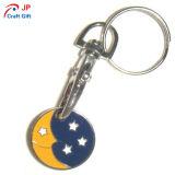 Kundenspezifische Himmels-Zink-Legierung Keychain für Verkauf