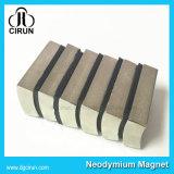 Магнит мотора DC неодимия формы N52 дуги покрытия никеля изготовленный на заказ супер сильный