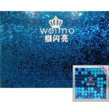 diseños de la decoración del hogar de la tarjeta del papel pintado del PVC 3D