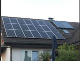 태양 격자에 의하여 묶이는 지붕 상단 시스템, 지상 설치 태양계