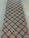 도매 수정같은 모조 다이아몬드 메시 트리밍 직물 손질 테이프