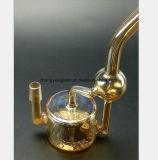 Transparentes gelbes Glaswasser-Rohr für Gewehr-Filter-Wiederanlauf