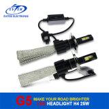 Fanless LED 헤드라이트 전구 25W 3200lm LED 헤드라이트 H4 9004 9007 H13 차 헤드라이트