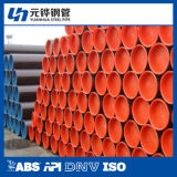 """10 de """" linha tubulação das especs. 5L Psl1 Sch40 API para o petróleo e o gás natural que transportam"""