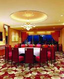 機械によってポリエステルホテルの花のウィルトンの編まれるカーペット