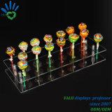 Acryllutscher-Ausstellungsstand, Acrylsüßigkeit-süsser Halter, Acryllutschbonbon-Organisator