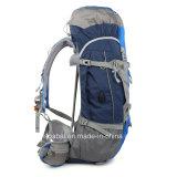 USBの充電器が付いている移住旅行袋のバックパックをハイキングする防水耐久のナイロン