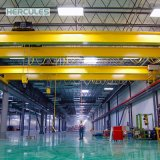 Кран электрического двойного прогона надземный 25 тонн