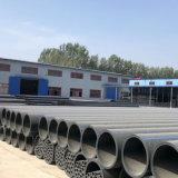 Tubo de plástico de HDPE para suministro de agua PE100 o PE80