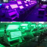 Luces al aire libre del club de noche de la arandela 72X10W de la pared del LED