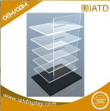 Kundenspezifisches freies Plastikacrylfußboden-Speicher-Bildschirmanzeige-Regal