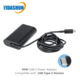 DELLのための45W USB PdのタイプCラップトップの充電器の交流電力のアダプター
