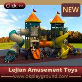 Cour de jeu en plastique fantastique d'école d'amusement d'enfants (X1506-3)