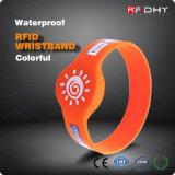 Wristband da microplaqueta de RFID MIFARE 1k 4k para o festival
