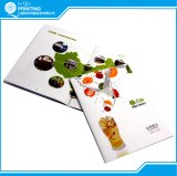 印刷されるカラーパンフレットカタログマガジンリーフレットの小冊子