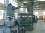 Tipo de fábrica durável avançada máquina de jateamento Pivotante
