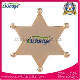 Fornecimento de Metal Personalizada Barata Sheriff Badge