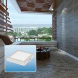 12W Vierkante LEIDENE het van uitstekende kwaliteit Licht van het Comité met Ce RoHS