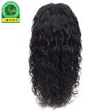 Chinesisches Jungfrau-Haar-volle Spitze-Wasser-Wellen-Menschenhaar-Perücke