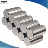 De sterke Magnetische Permanente Magneten van NdFeB van de Cilinder met Deklaag Ni-Cu-Ni