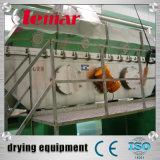 Malha de algas contínuo de secador de leito do Transportador