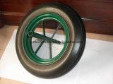 14 بوصة عربة يد صلبة مطّاطة عجلة إطار العجلة