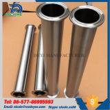 3Um tubo de aço inoxidável nas extremidades da braçadeira do Carretel