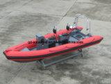 Aqualand 19FT 5.8m steifes aufblasbares Tauchens-Boot/Rippen-Patrouillenboot (RIB580T)