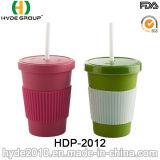 2016 erfinderische biodegradierbare Bambusfaser-Kaffeetasse (HDP-2012)