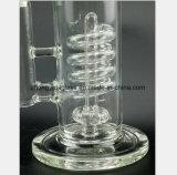 11 Zoll-GlasHuka-Rohr-Spirale-Filter-Tabak-Wiederanlauf-Rohr