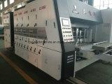 Machine de découpage de carton d'impression automatique de Flexo avec la machine automatique de Gluer de dépliant