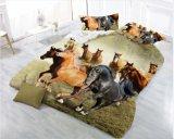 安いMicrofiberの寝具3Dのシーツ