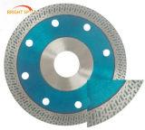 Hoja de sierra de diamante sinterizado de Turbo lámina para la piedra
