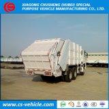 Het Broodje van HOWO/Dongfeng 6X4 10tons van de Opheffende Vuilnisauto van de Haak van de Vuilnisauto 20tons voor Verkoop