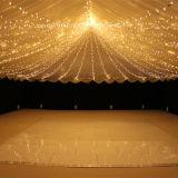 結婚式のイベントLEDストリングは屋外の豆電球をつける