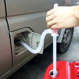 プラスチック手動サイフォンの石油燃料の化学薬品の液体液体転送ポンプ