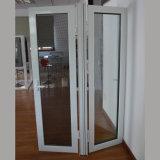 Guichet en aluminium de tissu pour rideaux de profil de qualité avec l'écran K03026 d'acier inoxydable