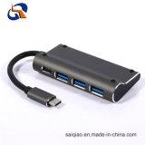 4 в 1, тип C ступицы в том числе USB3.0 Af*3