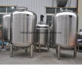 El tanque de almacenaje sanitario del acero inoxidable