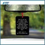 Papel colgante con el perfume para el ambientador del coche/del sitio/de aire