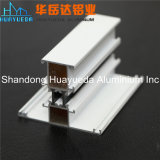 Perfil de vidro do alumínio do revestimento da porta/pó do banheiro da porta do perfil de alumínio interior decorativo