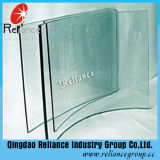 Limpar o vidro temperado/Vidro Temperado Curvo/ escadas de vidro temperado