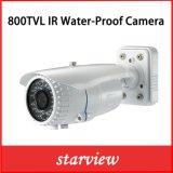 800tvl Camera van de Veiligheid van de Kogel van kabeltelevisie van IRL de Waterdichte (W21)