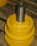 Rouleau supérieur de rouleau de dessus de rouleau de transporteur de Kato pour des pièces de train d'atterrissage de bouteur d'excavatrice de machines de construction